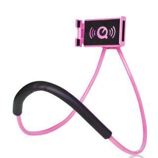 Универсальный держатель для смартфона на шею, Розовый