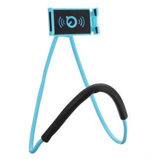 Универсальный держатель для смартфона на шею, Голубой