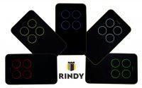 Пульт универсальный Rindy MULTI 2 (Nice, Faac, Nero Radio, Hormann, Ditec, BFT)