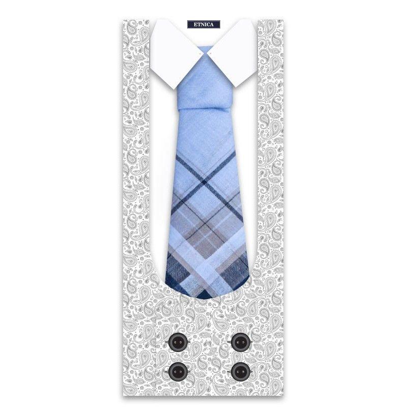 Пс07-1 Подарочный мужской носовой платок, 1 шт., 100% х/б
