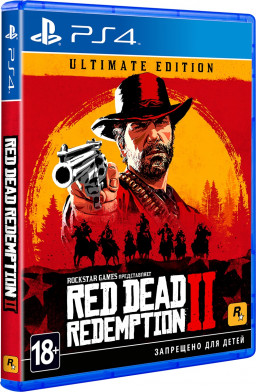 Игра Red Dead Redemption 2 Ultimate Edition (PS4)