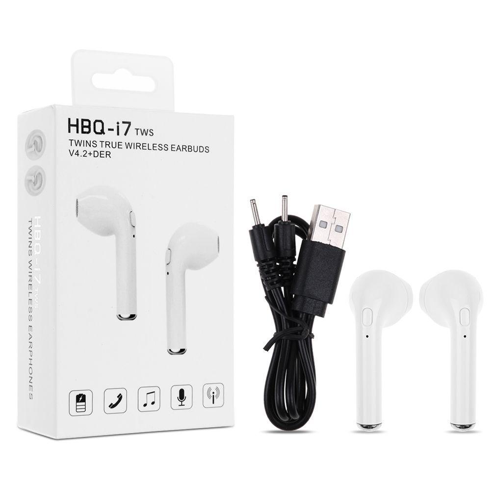 Беспроводные Наушники HBQ I7 TWS, Цвет Белый