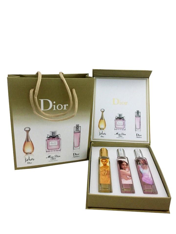 Подарочный набор Dior For Women 3*20 ml с подарочным пакетом