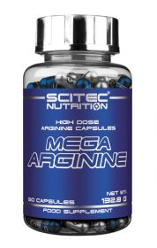 Mega Arginine от Scitec Nutrition 90 кап