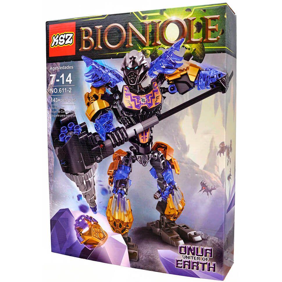 Конструктор Бионикл Онуа объединитель земли