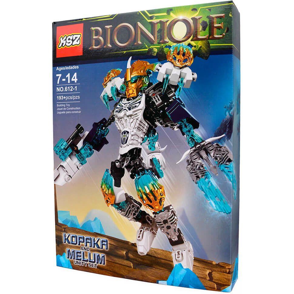 Набор Бионикл Копака и Мелум