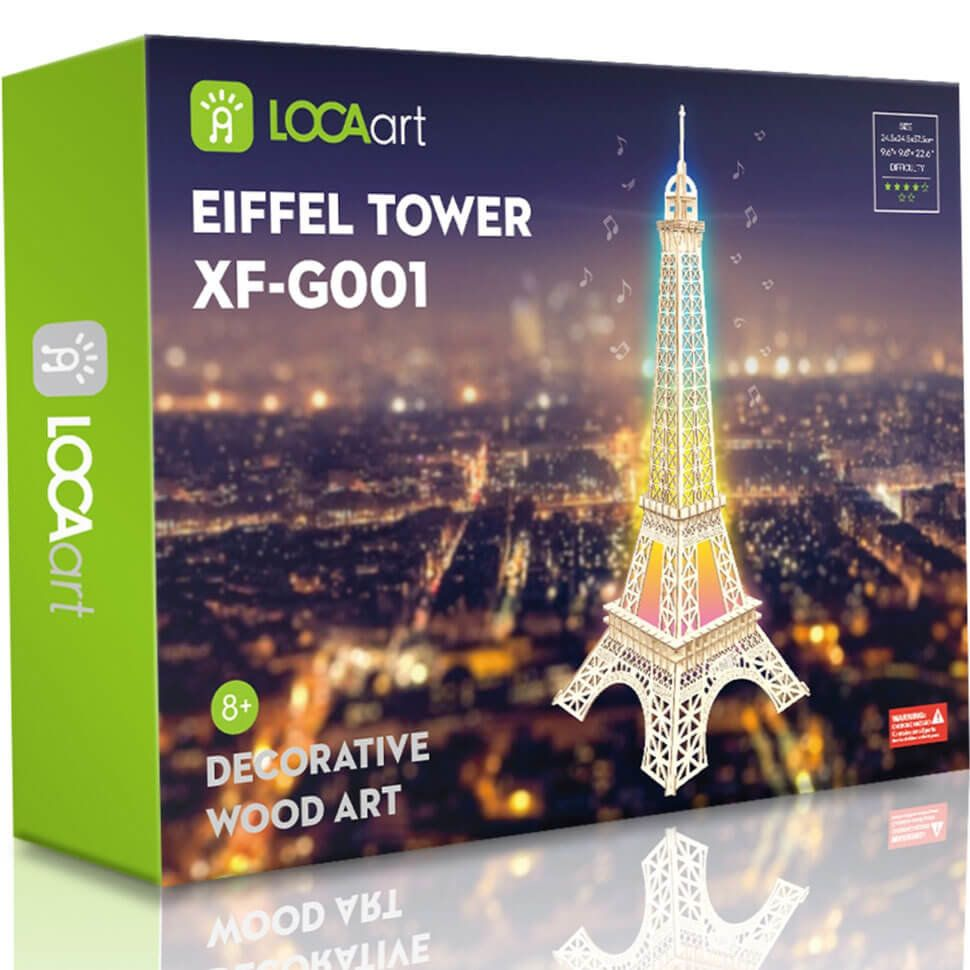 Эйфелева башня 3D пазл