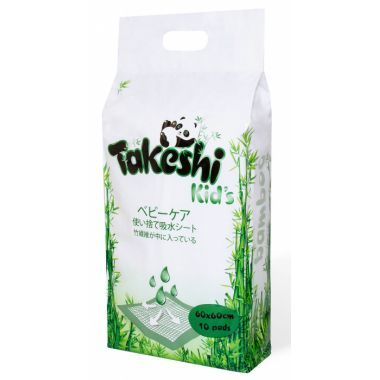 Takeshi Kid's ПЕЛЕНКИ ГИГИЕНИЧЕСКИЕ 60 х 90 10 ШТ