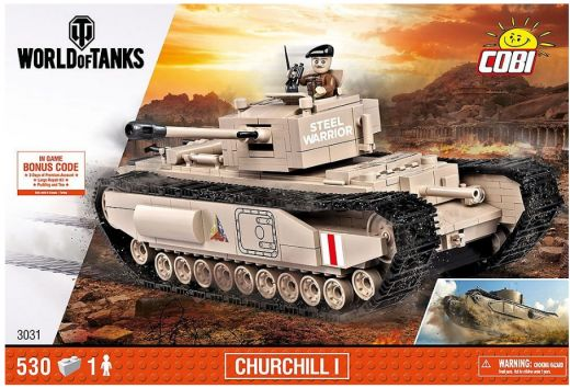 КОБИ World of Tanks - Британский тяжёлый танк Churchill COBI-3031
