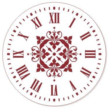 Трафарет для часов, ЭЛГ30-02, d=30 см
