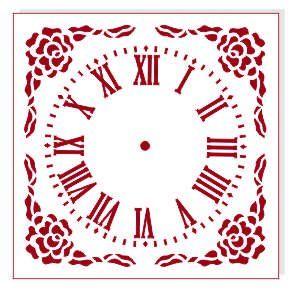 Трафарет для часов, ЭЛГ15-32, d=15 см
