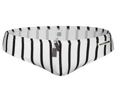 3707  LUXE Zebra Stripe brief [eng]