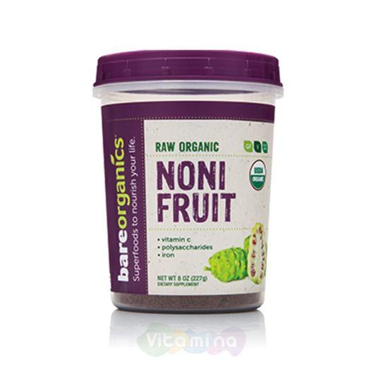 BareOrganics Порошок из ягод Нони Noni Fruit Powder (Raw - Organic)