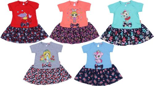 """Платье для девочек """"МИЛАШКА"""" 2-6 лет BK997P"""