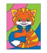 "Раскраска песком А5 ""Котёнок"" (арт. Р-4386)"