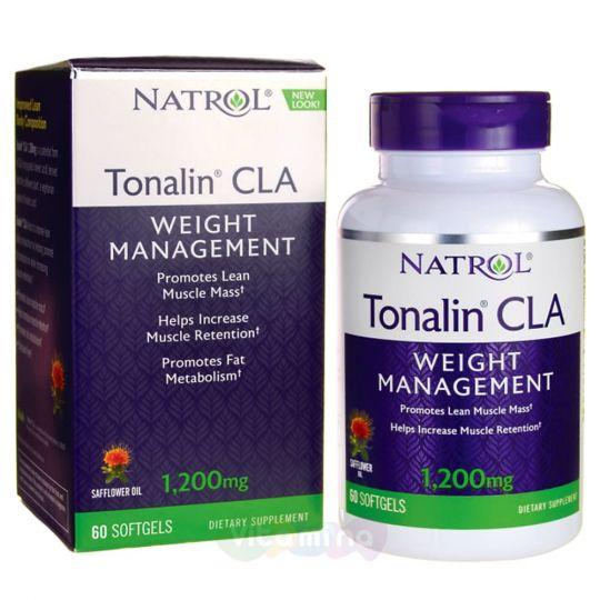Natrol Тоналин 1200 мг Tonalin CLA, 60 капс.