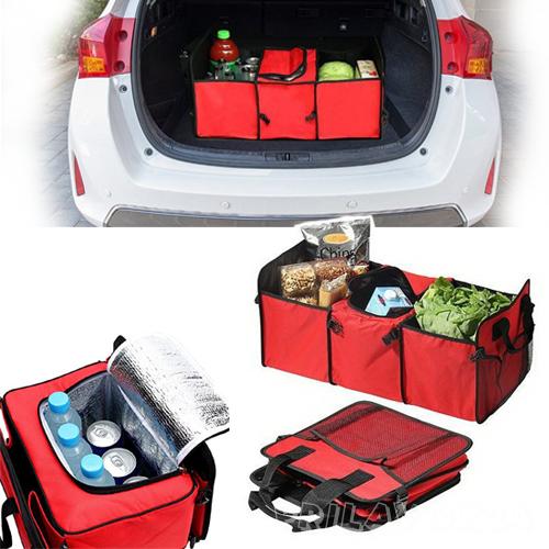 Органайзер для  автомобиля складной Trunk organizer & cooler