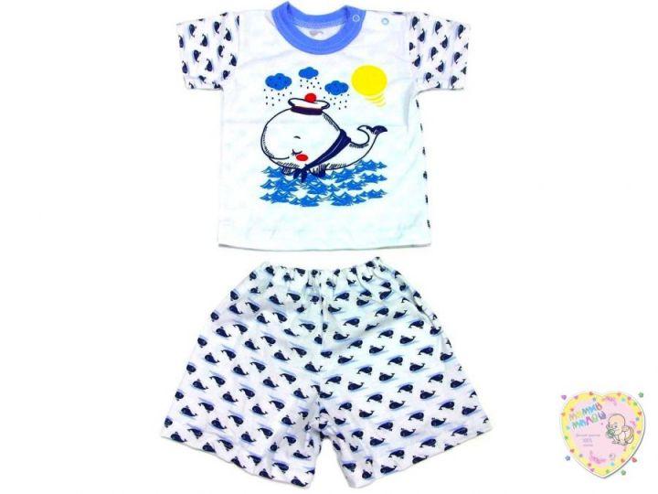 Костюм: футболка 2 кн. шорты kA-KS069(2)-SUk (супрем, кит)