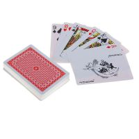 Бумажные игральные карты в пластиковой коробке Royal, 54 шт