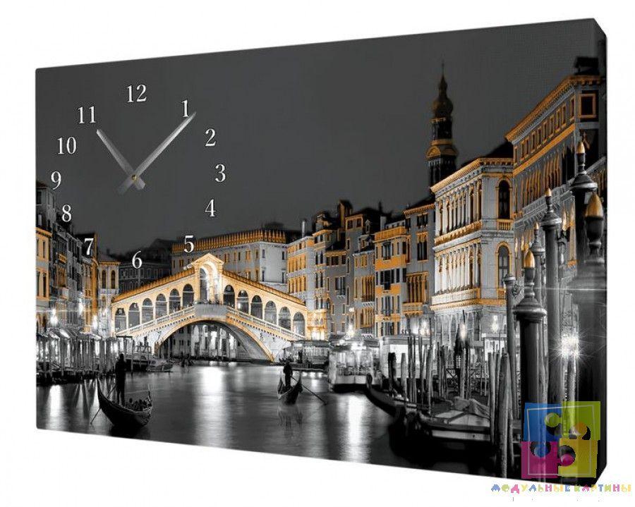 Часы на холсте MWC-12