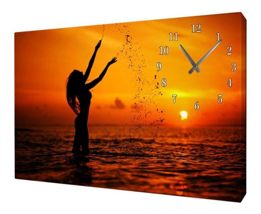 Часы на холсте MWC-80