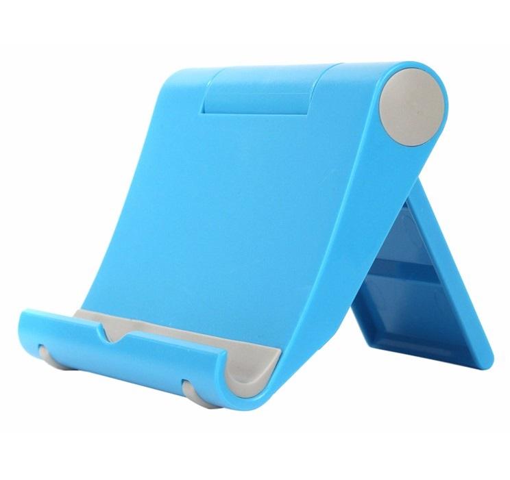 Пластиковый Держатель Для Смартфона И Планшета, Цвет Голубой