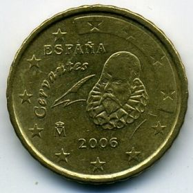 Испания 10 евроцентов 2006