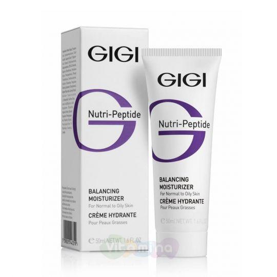 GiGi Балансирующий крем для жирной кожи Nutri Peptide Balancing Moisturizer Oily Skin
