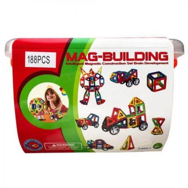 Mag-building 188 деталей