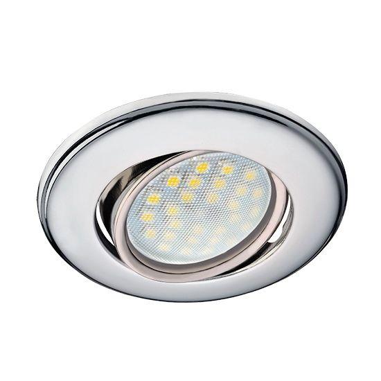 Встраиваемый светильник Ecola FC1601EFS