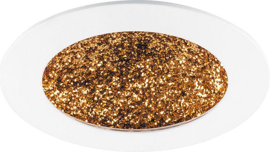 Встраиваемый светильник Feron AL9070 белый с золотом