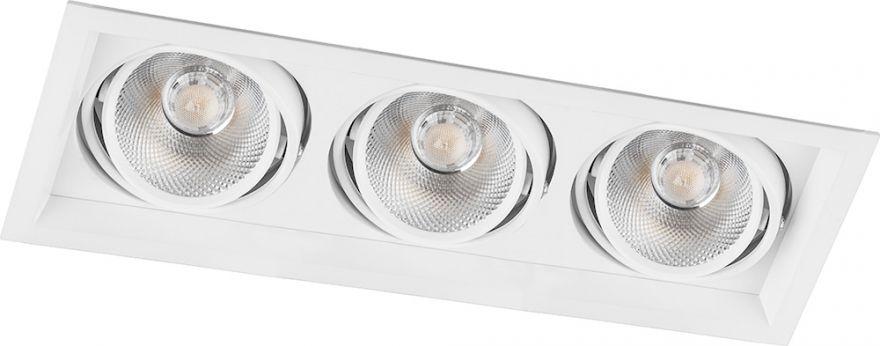 Встраиваемый светильник Feron AL203 3x20W