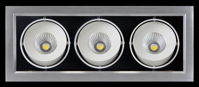 Встраиваемый светильник Jazzway PSP-S CARDAN 3x9W