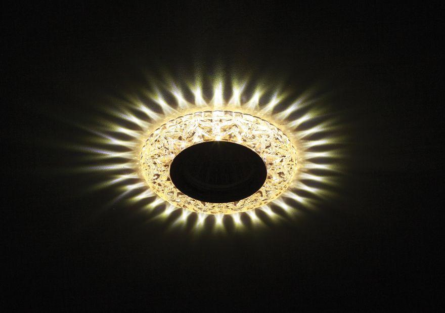 Встраиваемый светильник ЭРА DK LD4 CHP/WH