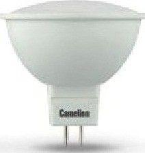 Светодиодная лампа Camelion MR16 GU5.3 220V 7W(460lm 100°) 3000K 2K матов. 50x50 пластик LED7-JCDR/830/GU5.3