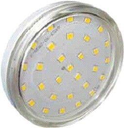 Светодиодная лампа Ecola GX53 св/д 6W 2800K 2K 27x75 прозр. Light T5TW60ELC