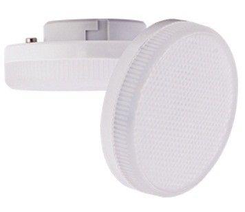 Светодиодная лампа Ecola GX53 св/д 6W 4200K 4K 27x75 матов. алюм. Premium T5UV60ELC
