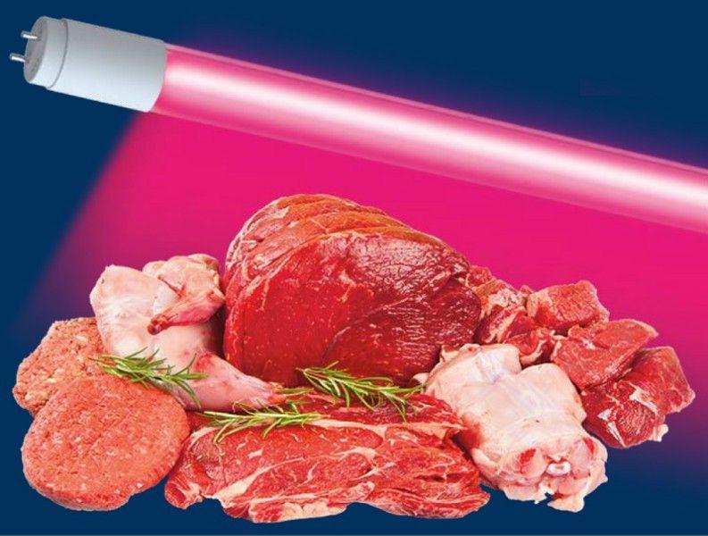 Светодиодная лампа Jazzway T8 G13 220V лампа св/д для мясных продуктов 12W(770lm) 900x26мм .5006485