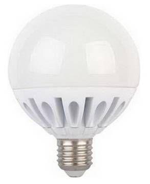 Светодиодная лампа Ecola шар G95 E27 15.5W 2700K 2K 135x95 (15W)пласт./алюм.Premium K7LW15ELC