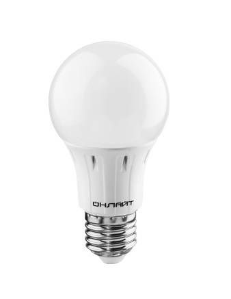 Светодиодная лампа ОНЛАЙТ ЛОН A60 E27 7W(640Lm) 6500K 6K 113x60 OLL-A60-7-230-6.5K-E27 61139