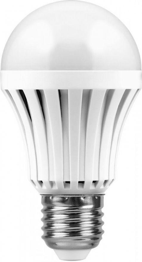 Светодиодная лампа Feron ЛОН A60 E27 5W(350lm) 4000K 4K 109x60 св-к св/д аварийн аккумулятор) AC/DC 5час WL16 12984