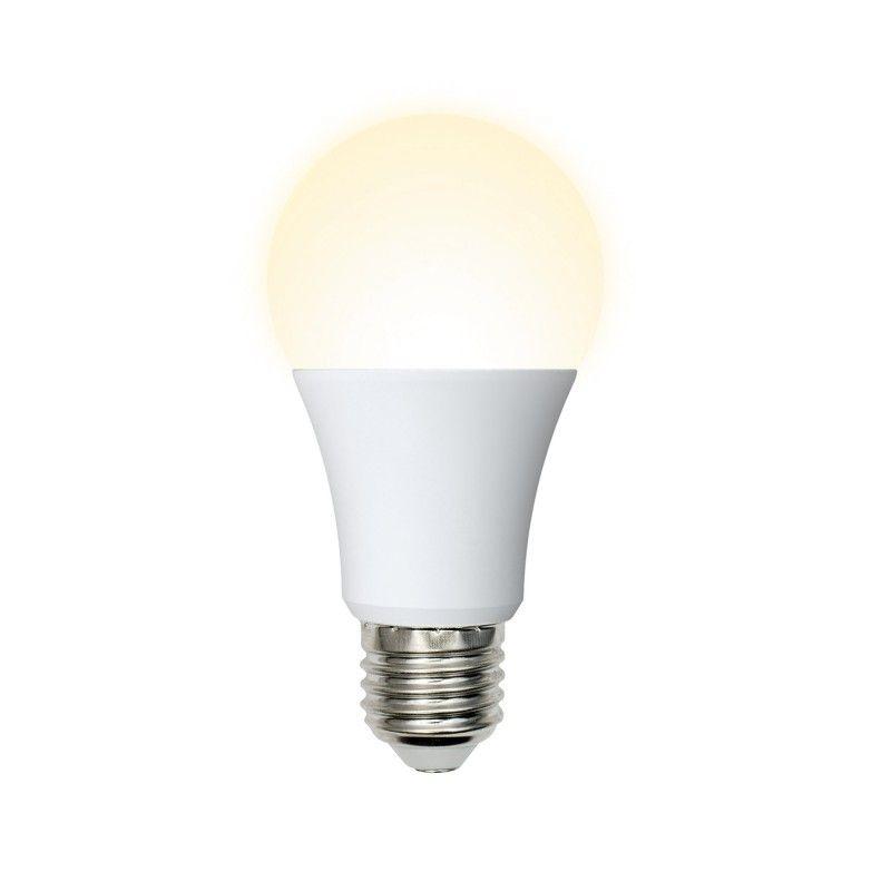 Светодиодная лампа Volpe NORMA ЛОН A60 E27 16W(1450lm) 3000K 2K матовая 60x110 LED-A60-16W/WW/E27/FR/NR