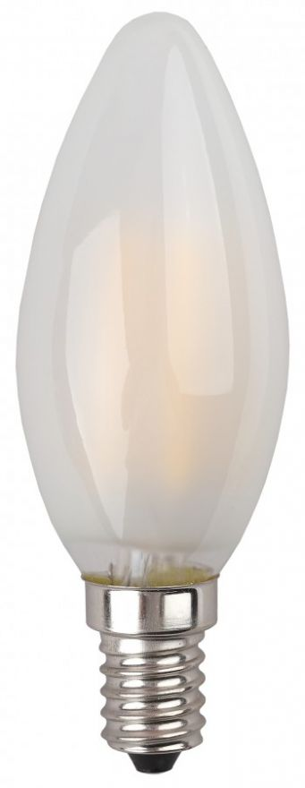 Светодиодная лампа ЭРА F-LED свеча B35-7w-827-E14 филамент (нитевидная), матов