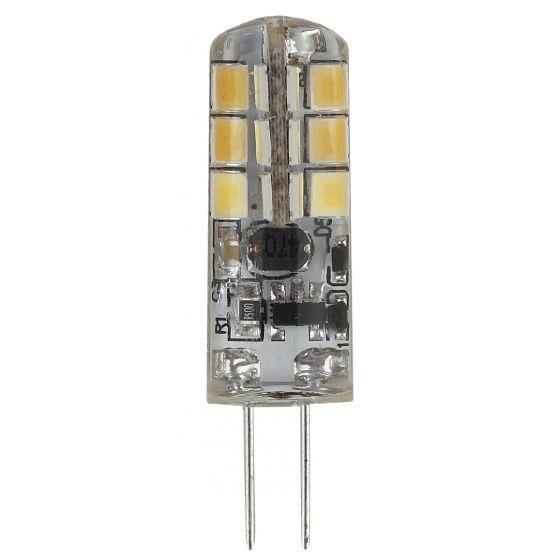 Светодиодная лампа ЭРА стандарт G4 12V 1.5W (120lm) 4000K 4К 23х10 LED-JC-1.5W-12V-840-G4