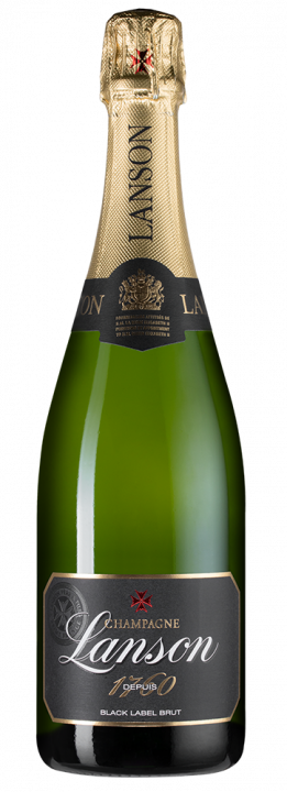 Lanson Black Label Brut, 0.75 л.