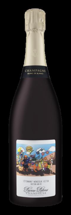 Champagne Pierre Peters l'Etonnant Moncieur Victor Brut Grand Cru, 0.75 л.