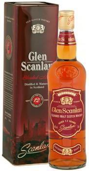 BLENDED MALT SCOTCH WHISKY GLEN SCANLAN  AGED 12 YEARS