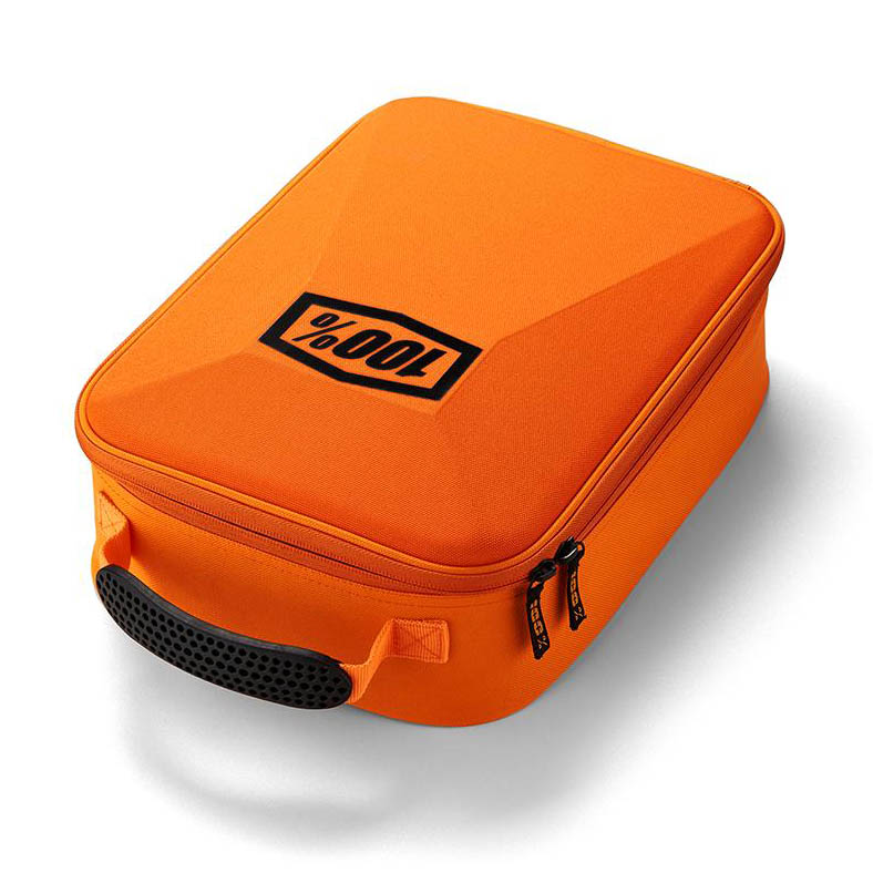100% - Goggle Case Fluo Orange, сумка для хранения очков