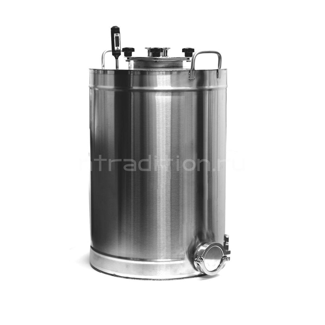 Перегонный куб Эко с клампом под ТЭН, 36 литров