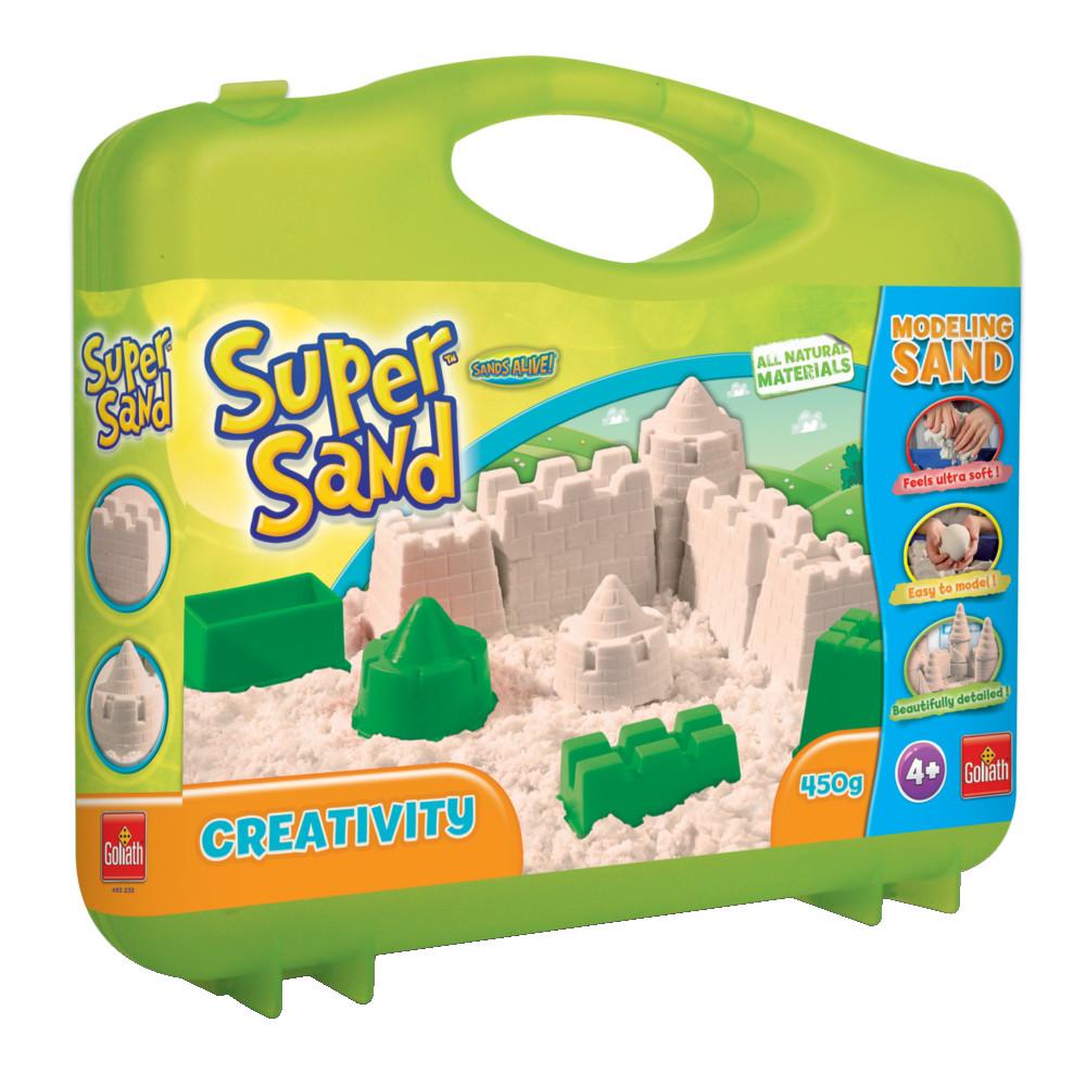 Песок SUPER CREATIVE с чемоданчиком Goliath GLH83232